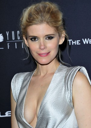 Kate Mara: 2014 The Weinstein Company and Netflix GG after party -23