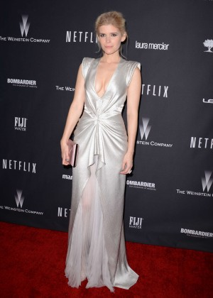 Kate Mara: 2014 The Weinstein Company and Netflix GG after party -26
