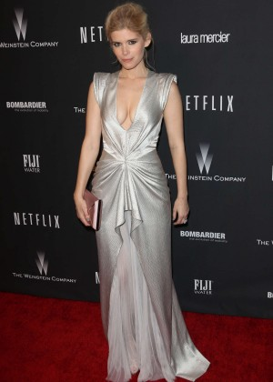 Kate Mara: 2014 The Weinstein Company and Netflix GG after party -27