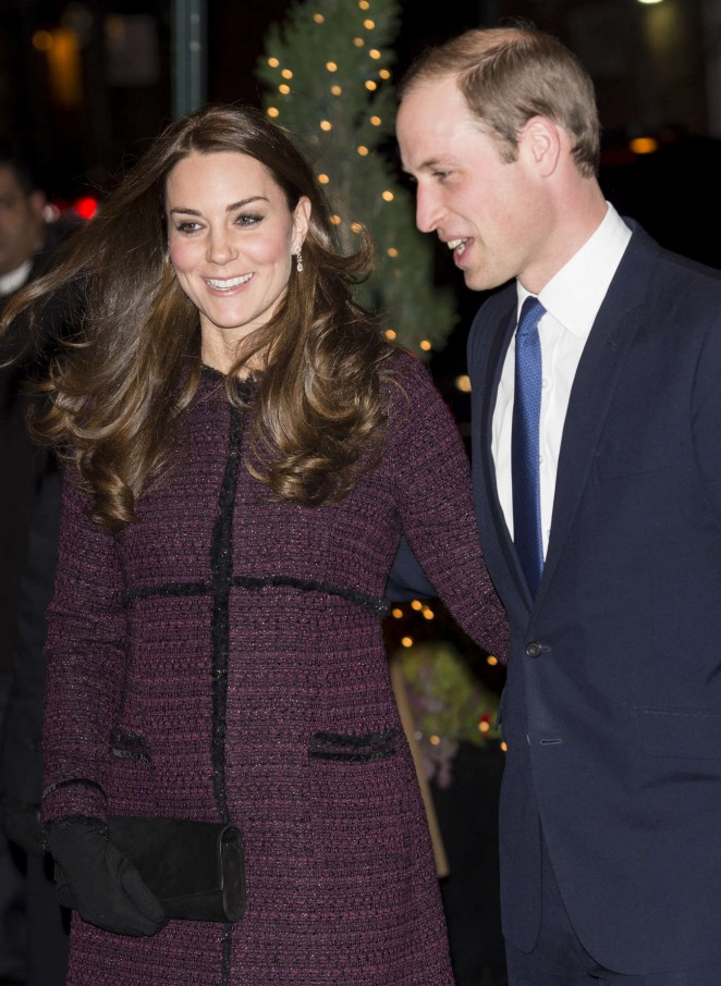 Kate Middleton and Prince William arrive at The Carlyle Hotel in New York -11