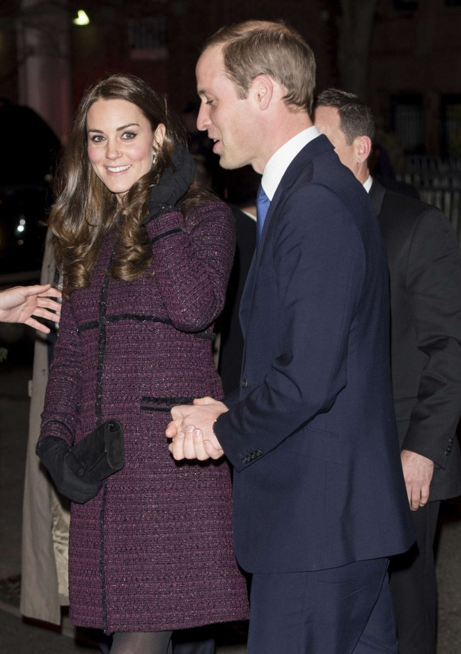 Kate Middleton and Prince William arrive at The Carlyle Hotel in New York -13