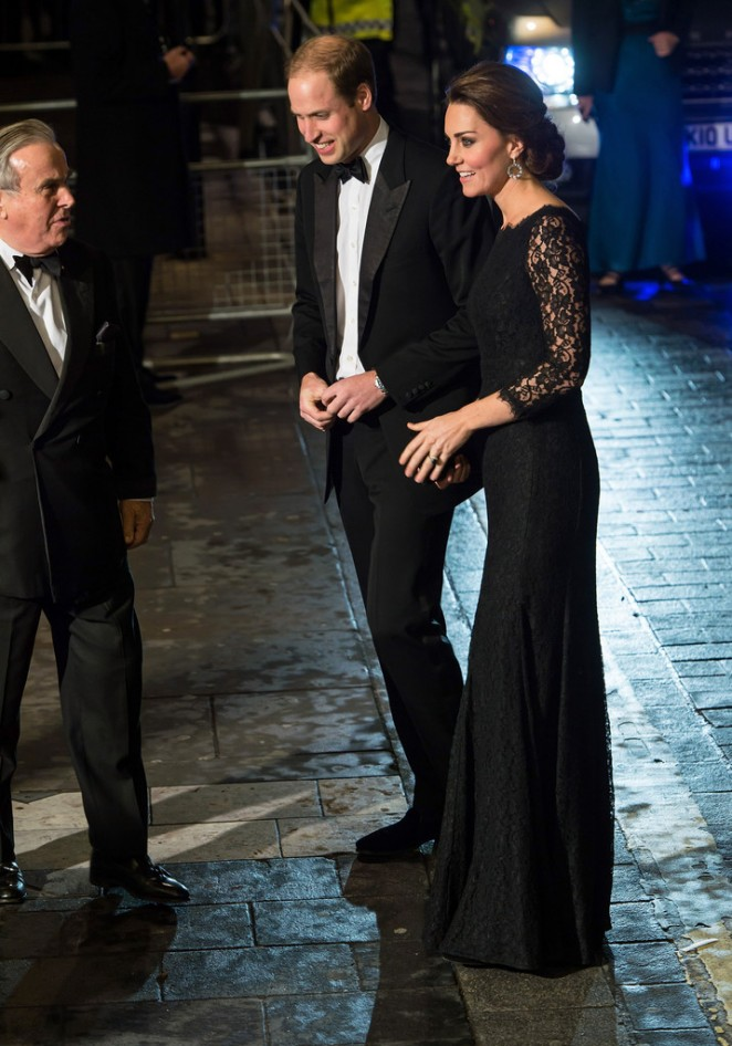 Kate Middleton - Arrivals at the Royal Variety Performance London Palladium in London
