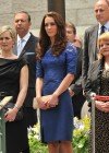Kate Middleton in Blue Dress at Freedom of the City Ceremony in Quebec-06