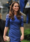 Kate Middleton in Blue Dress at Freedom of the City Ceremony in Quebec-08