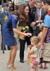 Kate Middleton in Blue Dress at Freedom of the City Ceremony in Quebec-09