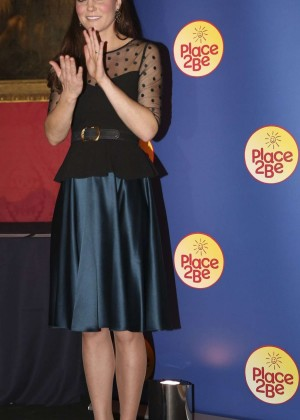 Kate Middleton - Hosts Place2Be Wellbeing In Schools Awards Reception at Kensington Palace