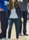 Kate Middleton 2013 SportsAid Athlete Workshop -14