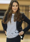 Kate Middleton 2013 SportsAid Athlete Workshop -18