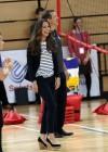 Kate Middleton 2013 SportsAid Athlete Workshop -19