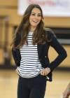 Kate Middleton 2013 SportsAid Athlete Workshop -20