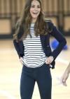 Kate Middleton 2013 SportsAid Athlete Workshop -29