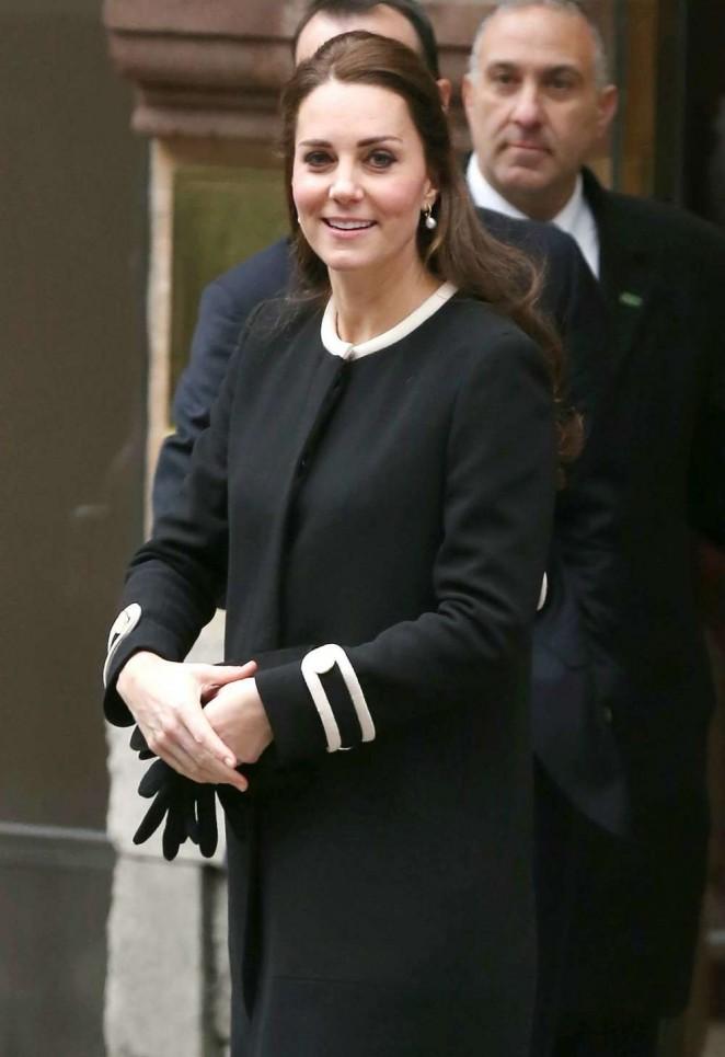 Pregnant Kate Middleton Visits Northside Center in Harlem
