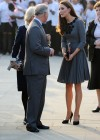 Kate Middletonn in cute dress visits Dulwich Picture Gallery-03