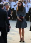 Kate Middletonn in cute dress visits Dulwich Picture Gallery-07