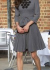 Kate Middletonn in cute dress visits Dulwich Picture Gallery-13