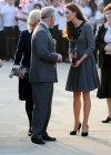 Kate Middletonn in cute dress visits Dulwich Picture Gallery-14