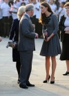 Kate Middletonn in cute dress visits Dulwich Picture Gallery-15
