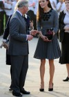 Kate Middletonn in cute dress visits Dulwich Picture Gallery-16