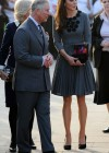 Kate Middletonn in cute dress visits Dulwich Picture Gallery-20