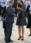 Kate Middletonn in cute dress visits Dulwich Picture Gallery-22