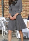 Kate Middletonn in cute dress visits Dulwich Picture Gallery-23