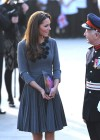 Kate Middletonn in cute dress visits Dulwich Picture Gallery-31