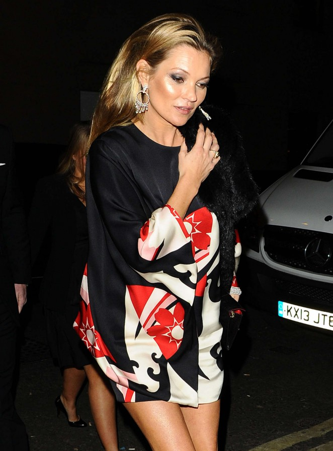 Kate Moss - 2014 British Fashion Awards in London