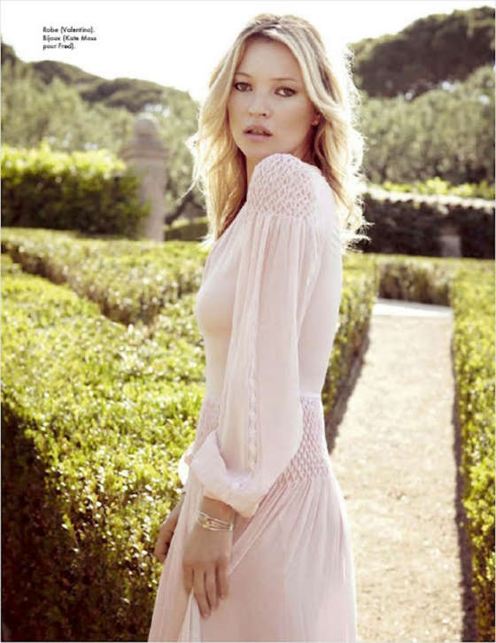 Kate Moss - ELLE France Magazine (August 2012)