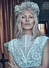 Kate Moss - W Magazine - Steven Klein in Louis Vuitton dress -12
