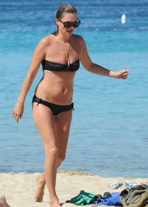 Kate Moss in a Bikini -01