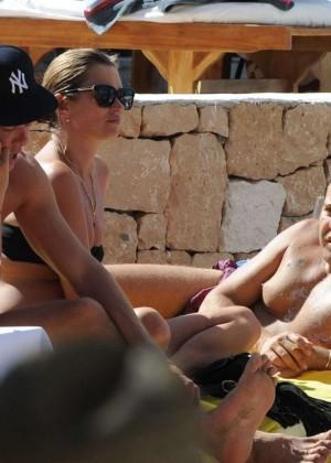 Kate Moss in a Bikini -04