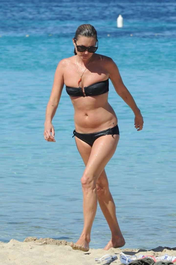 Kate Moss in a Bikini -09