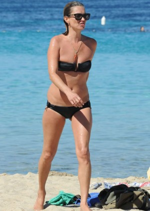 Kate Moss in a Bikini -11