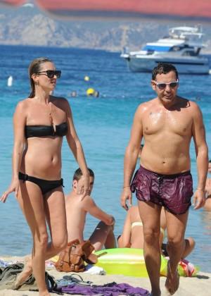 Kate Moss in a Bikini -15