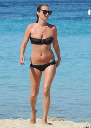 Kate Moss in a Bikini -17