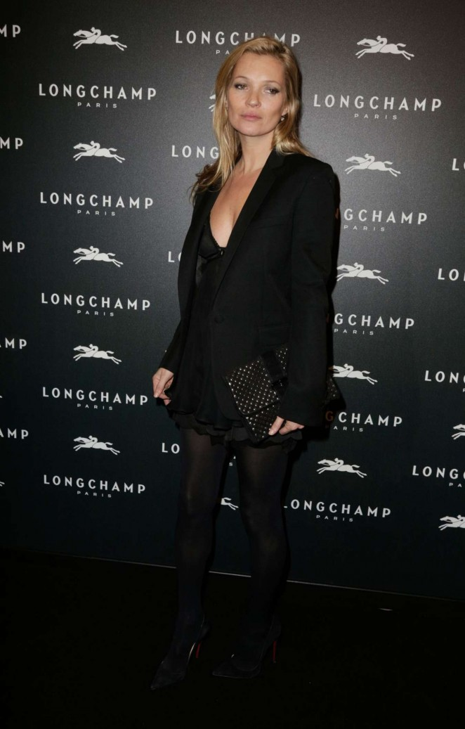 Kate Moss: Longchamp Elysees Light On Party Photocall -11