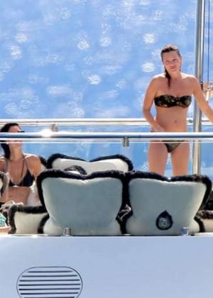 Kate Moss Bikini Photos: 2014 in St Barts -06