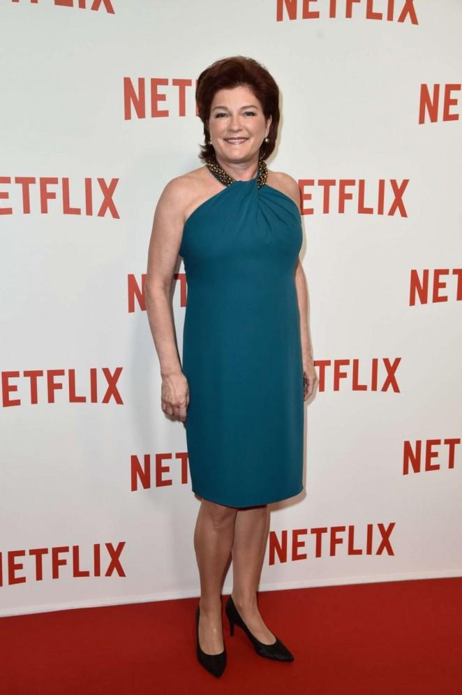"Kate Mulgrew – ""Netflix"" Launch Party at Le Faust In Paris"