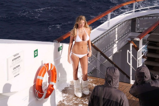 Kate Upton HQ Bikini in Antartica -02