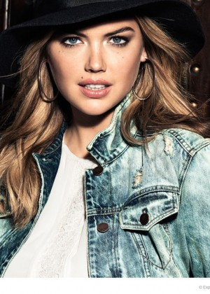 Kate Upton - Express Campaign (Fall/Winter 2014)