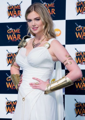 "Kate Upton - ""Game Of War - Fire Age"" Promotional Event in Busan"