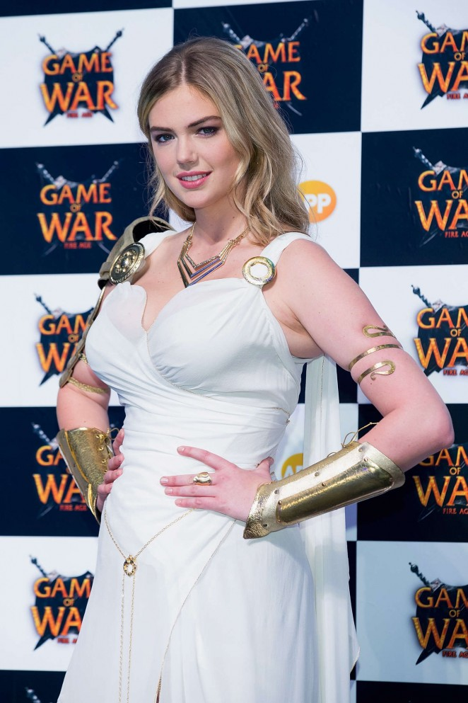 "Kate Upton – ""Game Of War – Fire Age"" Promotional Event in Busan"