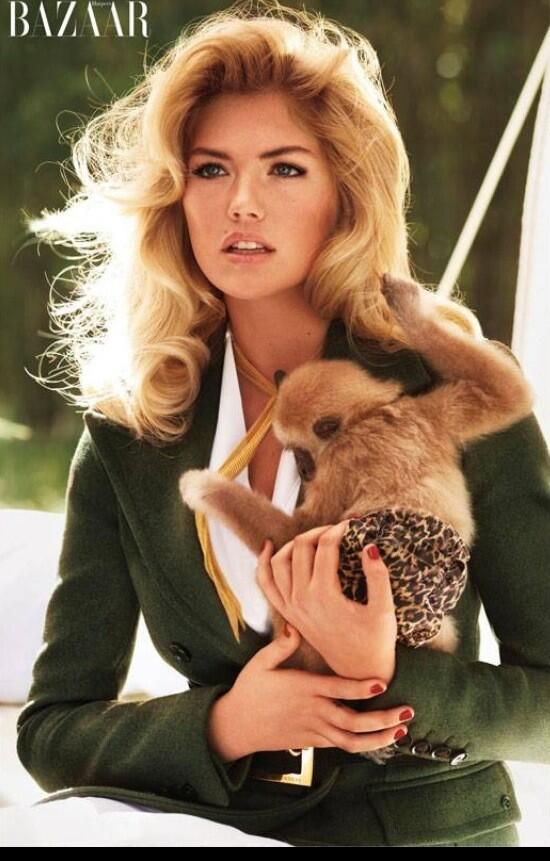 Kate Upton – Bazaar Animal Collection 2013 -01