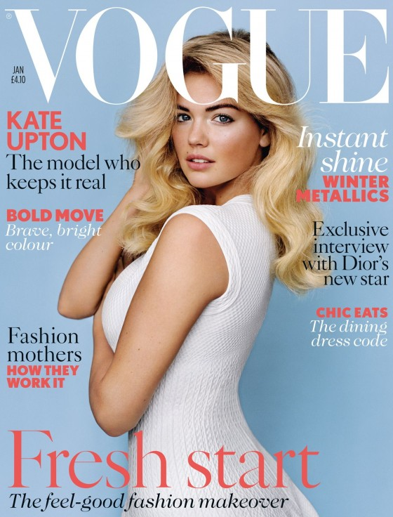 Kate Upton in Vogue UK - January 2013