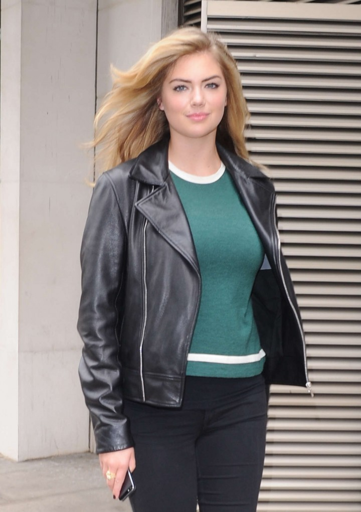 Kate Upton out at the Dorchester Hotel in London