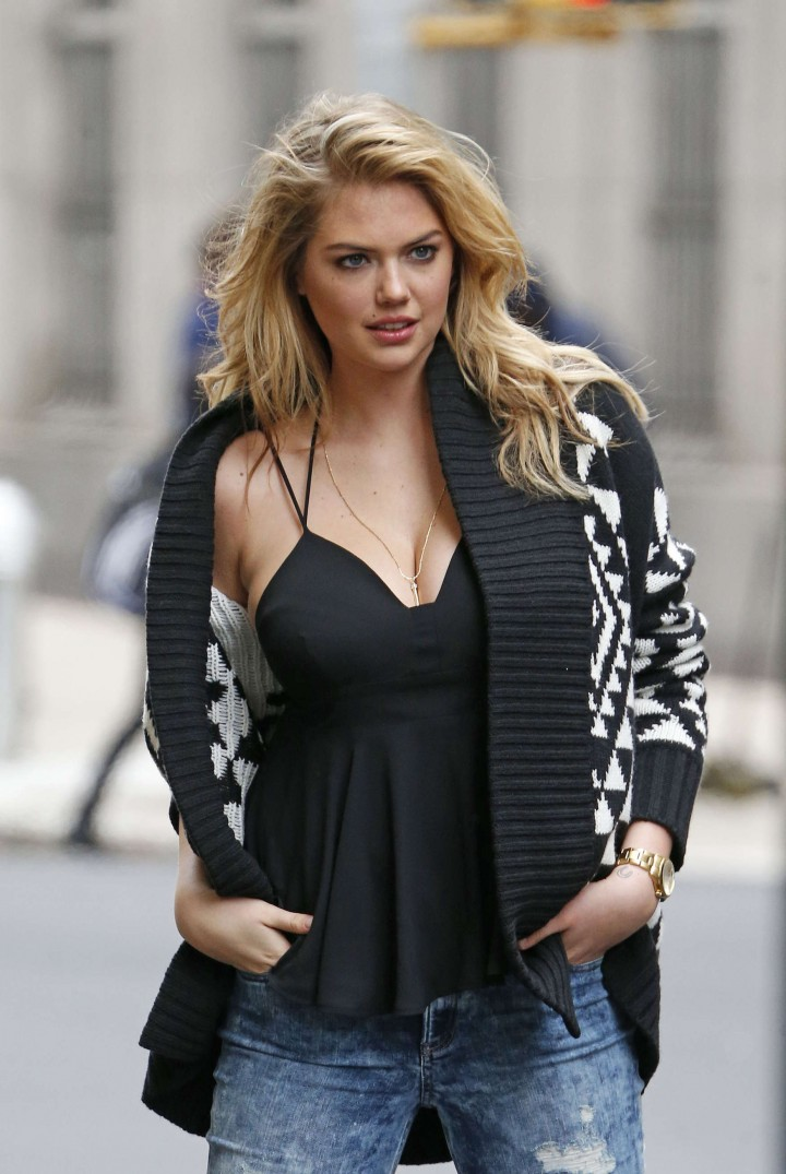 Kate Upton – Photoshoot in NYC