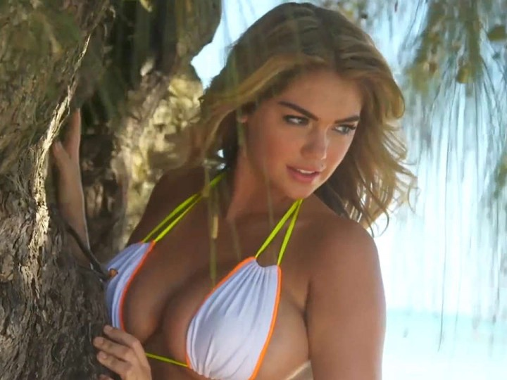 Kate Upton - Swim Daily Bikini PhotoShoot -03