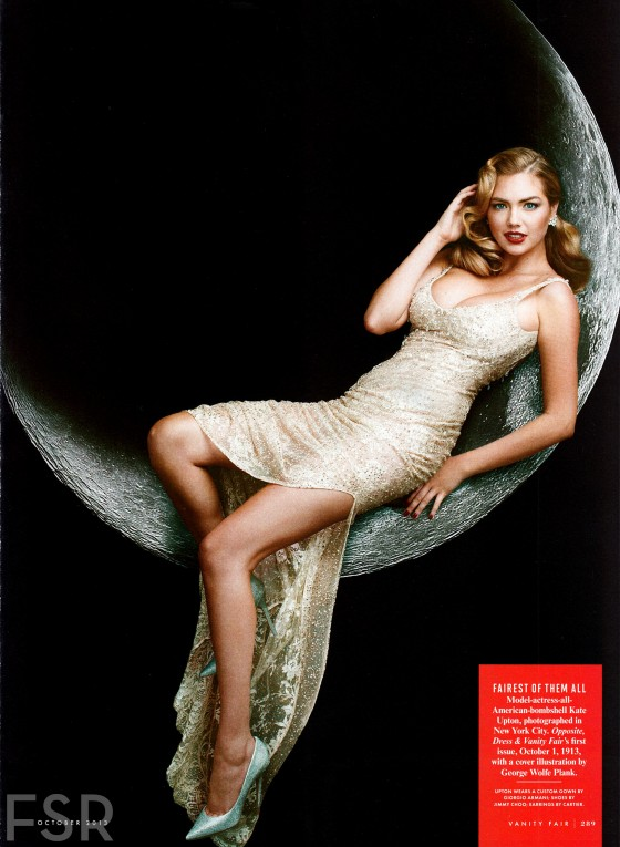 Kate Upton – Vanity Fair Magazine – October 2013