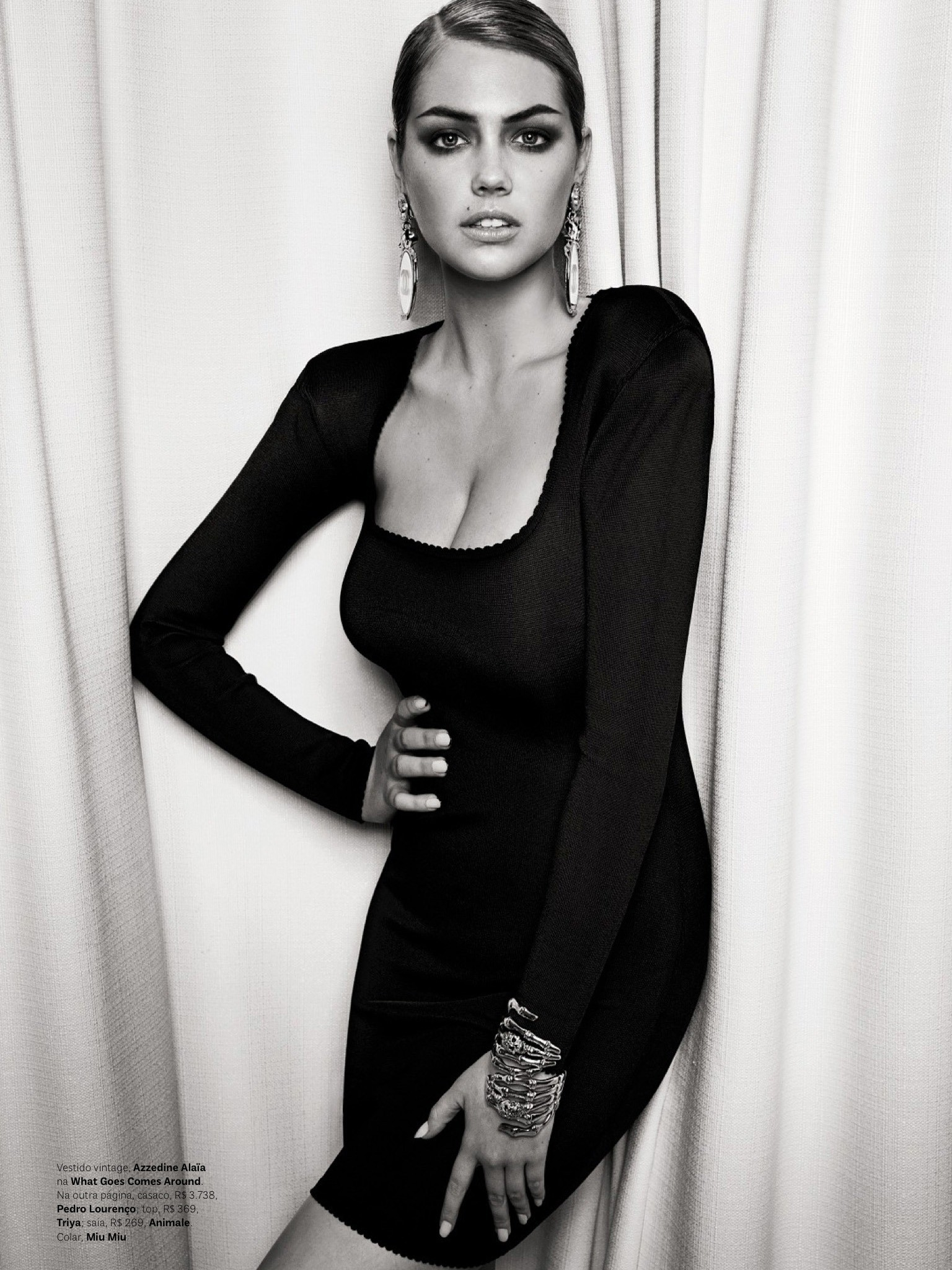 Kate Upton Vogue Brazil 2013 09 Gotceleb