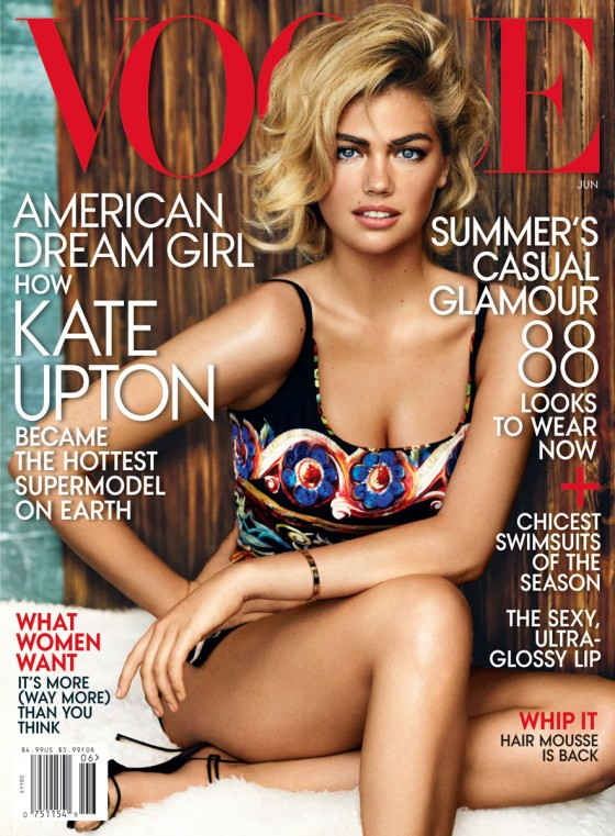 Kate Upton – Vogue Magazine 2103 -03